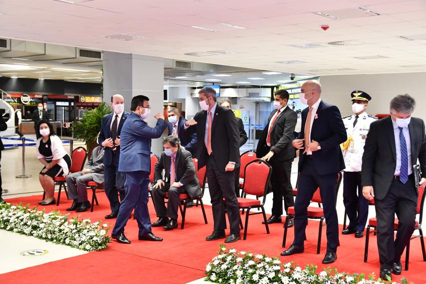 Apertura total del Aeropuerto Internacional Silvio Pettirossi