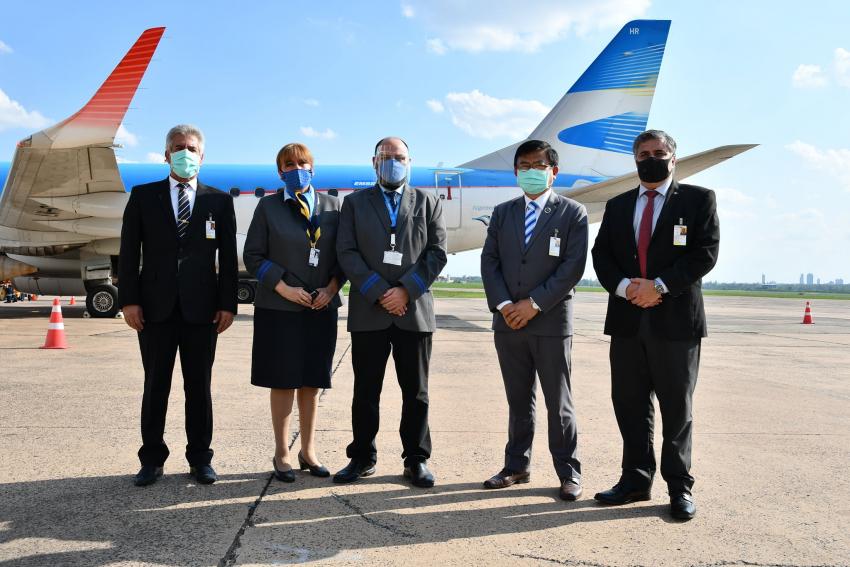 Reinician viajes aéreos entre Paraguay y Argentina.