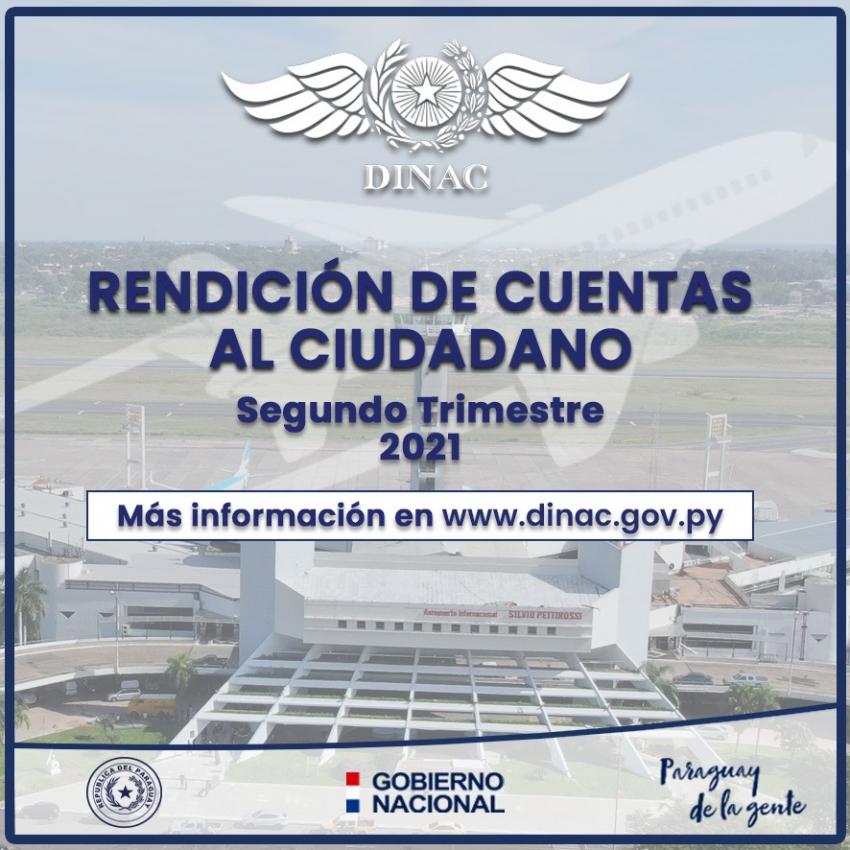 DINAC CUMPLE CON LA IMPLEMENTACIÓN DE RENDICIÓN DE CUENTAS AL CIUDADANO